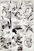 Original Comic Art:Panel Pages, Ross Andru, Mike Esposito, and Dave Hunt Amazing Spider-Man#179 Page 2 Green Goblin Original Art (Marvel, 1978)....