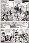 Original Comic Art:Panel Pages, Jack Kirby and Joe Sinnott The Silver Surfer Graphic NovelPage 32 Original Art (Marvel/Simon and Schuster, 1978)....