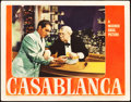 "Movie Posters:Academy Award Winners, Casablanca (Warner Brothers, 1942). Lobby Card (11"" X 14""). Academy Award Winners.. ..."