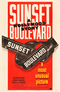 "Movie Posters:Film Noir, Sunset Boulevard (Paramount, 1950). One Sheet (27"" X 41"") Style B....."