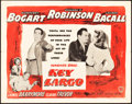 "Movie Posters:Film Noir, Key Largo (Warner Brothers, 1948). Half Sheet (22"" X 28""). StyleA.. ..."