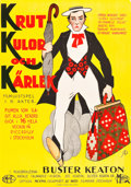 "Movie Posters:Comedy, Our Hospitality (Metro, 1923). Swedish One Sheet (27.25"" X38.25"").. ..."