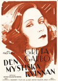 """Movie Posters:Romance, The Mysterious Lady (MGM, 1928). Swedish One Sheet (28"""" X 39.5"""")....."""
