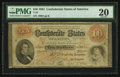 Confederate Notes:1861 Issues, T24 $10 1861 PF-4 Cr. 157.. ...