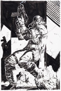 Original Comic Art:Covers, Jim Lee Deathblow #6 Cover Original Art (Image, 1994)....