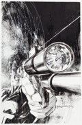 Original Comic Art:Covers, Bill Sienkiewicz Ultimate Marvel Team-Up #6 Cover Spider-Manand the Punisher Original Art (Marvel, 2001)....