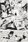Original Comic Art:Panel Pages, Neal Adams Brave and the Bold #79 Page 13 Batman and DeadmanOriginal Art (DC, 1968)....