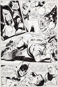 Neal Adams Brave and the Bold #79 Page 13 Batman and Deadman Original Art (DC, 1968)