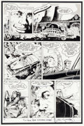 "Original Comic Art:Panel Pages, Mark Schultz and Steve Stiles Xenozoic Tales #2 ""Rules ofthe Game"" Page 4 Original Art (Kitchen Sink Press, 1987)..."