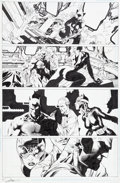 Original Comic Art:Panel Pages, Jim Lee Wizard #0 Batman #616A Page 1 Batman and CatwomanOriginal Art (DC/Wizard, 2003)....