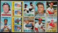 Baseball Cards:Sets, 1967 Topps Baseball Near Set (606/609)....