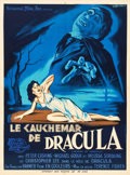 """Movie Posters:Horror, Horror of Dracula (Universal International, 1958). French Affiche(23.5"""" X 31.5"""").. ..."""