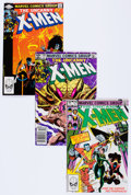 Modern Age (1980-Present):Superhero, X-Men #159-174 Near Complete Range Group of 106 (Marvel, 1982-83)Condition: Average VF+.... (Total: 106 Comic Books)