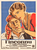"Movie Posters:Drama, The Unknown (Gaumont Metro Goldwyn, 1927). French Grande (43.5"" X59"").. ..."