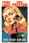 "Movie Posters:Film Noir, This Gun for Hire (Paramount, 1942). One Sheet (27"" X 41"").. ..."