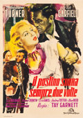 "Movie Posters:Film Noir, The Postman Always Rings Twice (MGM, 1947). Italian 4 - Foglio(55.5"" X 78.5"").. ..."