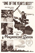"Movie Posters:Foreign, The Seven Samurai (Kingsley International, 1955). One Sheet (27"" X41""). First U.S. Release Title: The Magnificent Seven..."