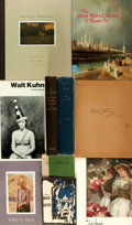 Books:Art & Architecture, Art/Artists]. Group of Ten Books and Publications on Art/Artists. Various publishers and dates. ...