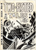 Original Comic Art:Covers, Harvey Kurtzman Two-Fisted Tales #27 Cover Original Art (EC,1952)....