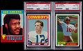 Football Cards:Lots, 1971-81 Topps Football HoF Rookie Card Trio (3)....