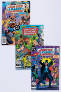 Modern Age (1980-Present):Superhero, Justice League of America Box Lot (DC, 1976-90) Condition: AverageFN....
