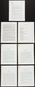 Books:Literature 1900-up, [Charles Plymell]. Seven Pieces Associated with Charles Plymell, Circa Late Eighties. . ...