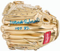 Baseball Collectibles:Others, Frank Robinson Signed Mini Gold Glove....