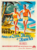 """Movie Posters:Elvis Presley, Blue Hawaii (Paramount, 1962). French Grande (47"""" X 63"""").. ..."""