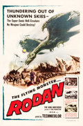 "Movie Posters:Science Fiction, Rodan! The Flying Monster (Toho/ DCA, 1957). One Sheet (27"" X41"").. ..."