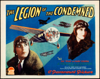 """The Legion of the Condemned (Paramount, 1928). Title Lobby Card (11"""" X 14"""")"""