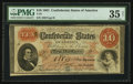 Confederate Notes:1861 Issues, T24 $10 1861 PF-13 Cr. 166.. ...