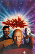 Original Comic Art:Covers, Keith Birdsong The Eyes of the Beholders Star Trek: The NextGeneration Paperback Cover Painting Original Art (Poc...