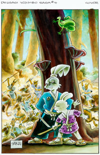 Stan Sakai Usagi Yojimbo Saga #4 Cover Original Art (Dark Horse, 2015)