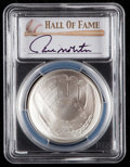 Baseball Collectibles:Others, 2014 Paul Molitor Signed Baseball Hall of Fame Silver Dollar PCGSMS70 Coin. ...