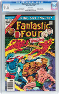 Modern Age (1980-Present):Superhero, Fantastic Four Annual #11 (Marvel, 1976) CGC NM+ 9.6 White pages....