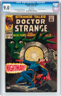 Silver Age (1956-1969):Horror, Strange Tales #164 (Marvel, 1968) CGC VF/NM 9.0 White pages....