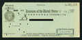 Miscellaneous:Other, Treasurer of the United States Tax Refund Check $1.75 Feb. 3, 1959.. ...