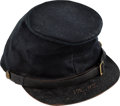 Military & Patriotic:Civil War, Civil War Forage Cap Identified to Alfred P. Snyder 192nd NY. ...