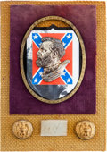 Autographs:Military Figures, Robert E. Lee: Clipped Signature Display....