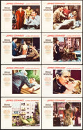 """Movie Posters:Hitchcock, Rear Window (Paramount, 1954). Lobby Card Set of 8 (11"""" X 14"""").. ... (Total: 8 Items)"""