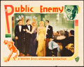 "Movie Posters:Crime, The Public Enemy (Warner Brothers, 1931). Lobby Card (11"" X 14"").. ..."
