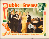 "The Public Enemy (Warner Brothers, 1931). Lobby Card (11"" X 14"")"