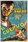 """Movie Posters:Horror, The Raven (Universal, 1935). Argentinean Poster (29.25"""" X 43.25"""")....."""