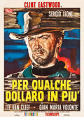 "Movie Posters:Western, For a Few Dollars More (PEA, 1965). Italian 2-Foglio (39"" X 55"")....."