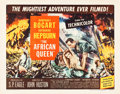 "Movie Posters:Adventure, The African Queen (United Artists, 1952). Half Sheet (22"" X 28"")Style B.. ..."
