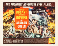 """The African Queen (United Artists, 1952). Half Sheet (22"""" X 28"""") Style B"""