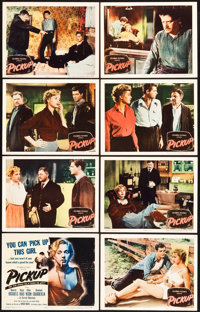 """Pickup (Columbia, 1951). Lobby Card Set of 8 (11"""" X 14""""). ... (Total: 8 Items)"""