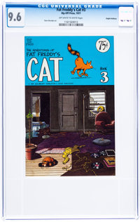 Fat Freddy's Cat #3 Haight-Ashbury pedigree (Rip Off Press, 1977) CGC NM+ 9.6 Off-white to white pages