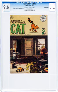 Fat Freddy's Cat #2 Haight-Ashbury pedigree (Rip Off Press, 1977) CGC NM+ 9.6 Off-white to white pages