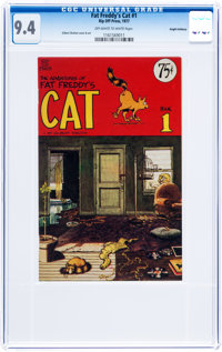 Fat Freddy's Cat #1 Haight-Ashbury pedigree (Rip Off Press, 1977) CGC NM 9.4 Off-white to white pages